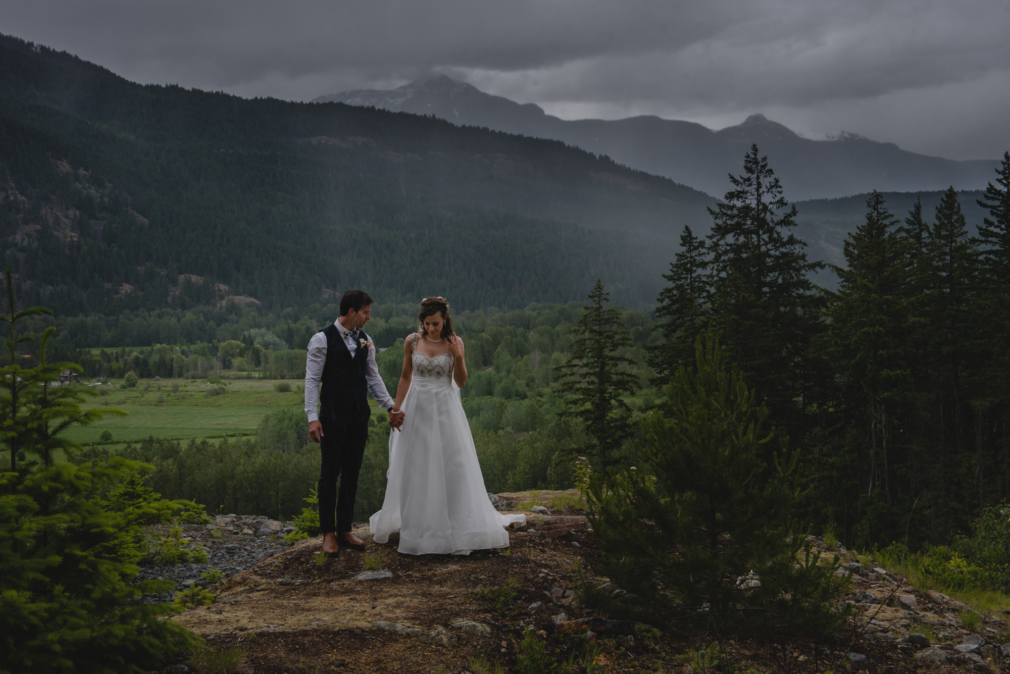 pemberton wedding couple