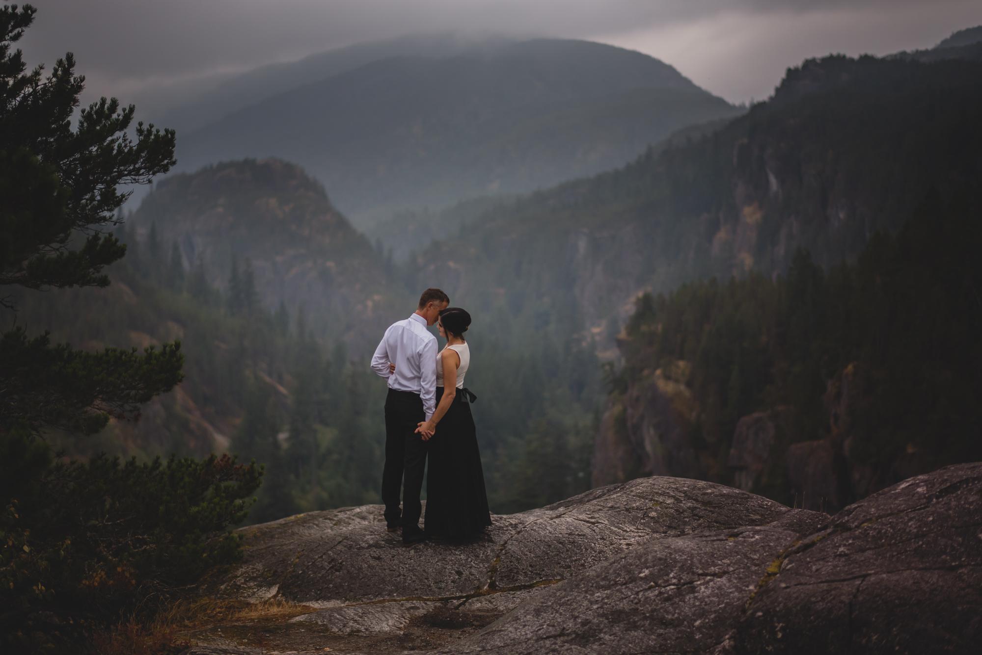 squamish engagement photography